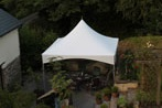 4.5m x 4.5m party marquee