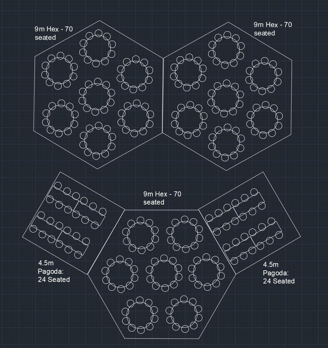Hex 12m layout